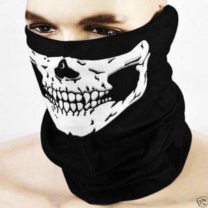 Skeleton Mask Skull Tube Face Halloween Mask